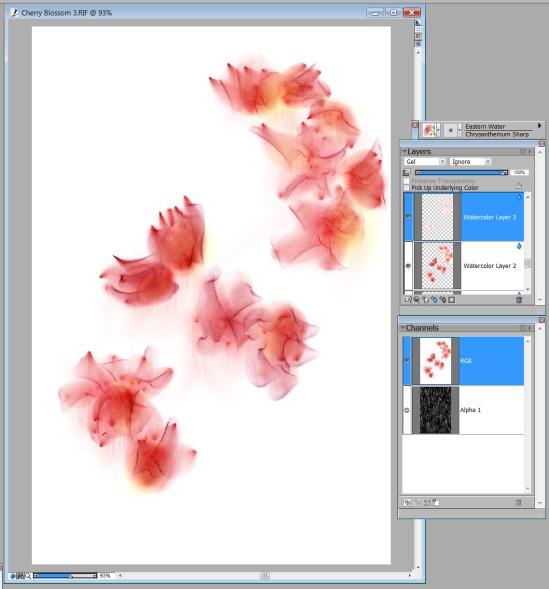 Adding soft petals