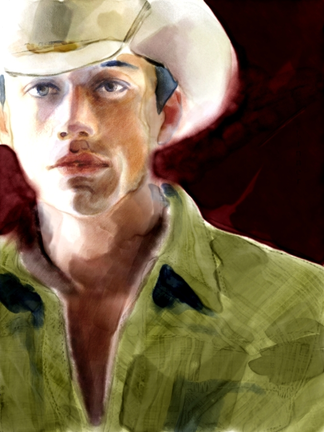 Cloning Watercolor Portrait in Painter 12