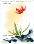 Beauty Flower Birthday