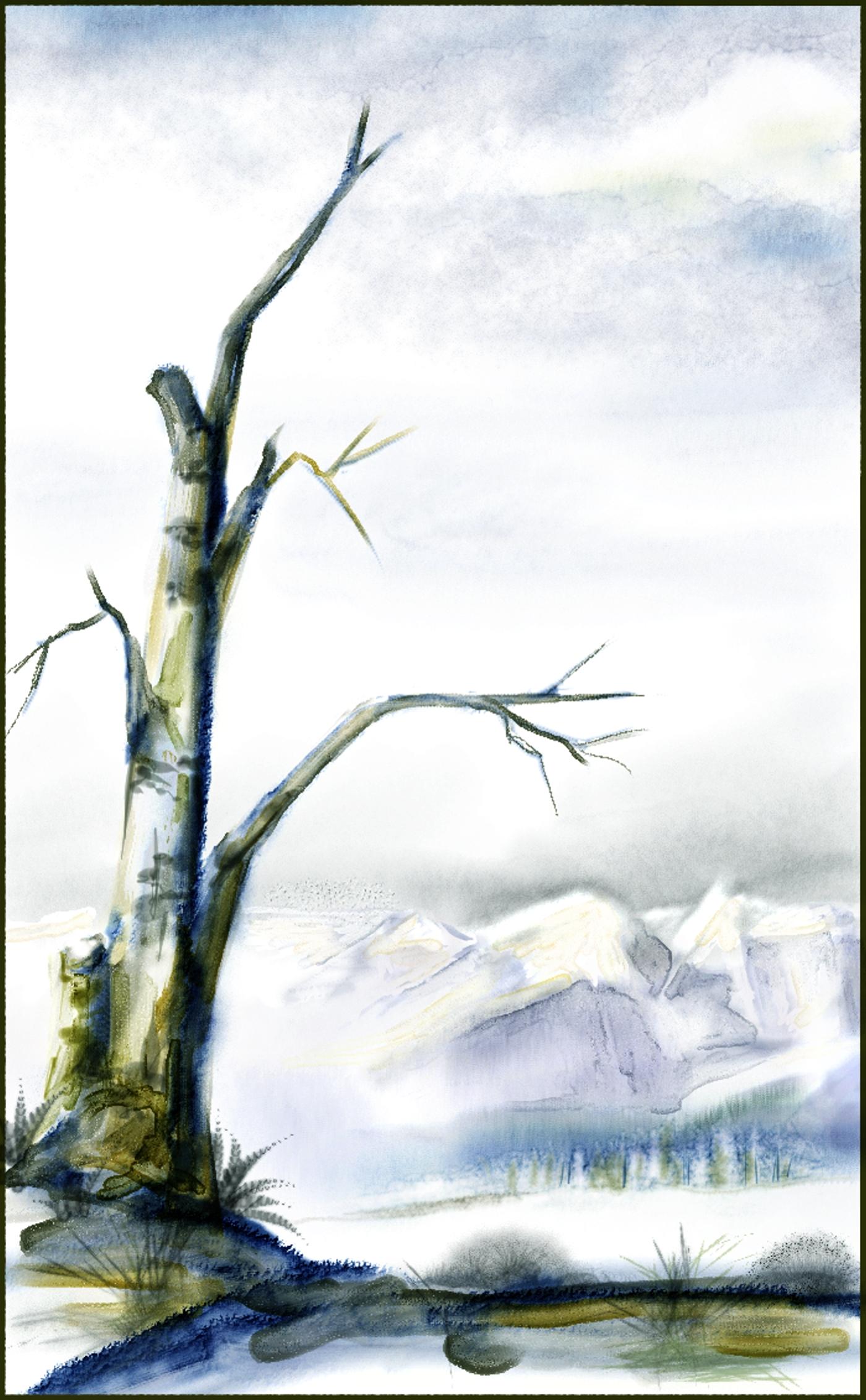 Dead Tree   Skip Allen Paints