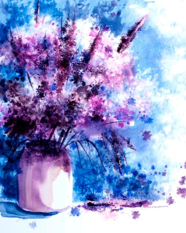 Quick Watercolor in Painter 12