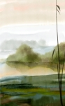Peaceful, Watercolor in Corel Painter 12