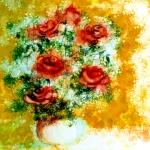 Roses with Orange