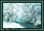 Snowy Stream Card 2