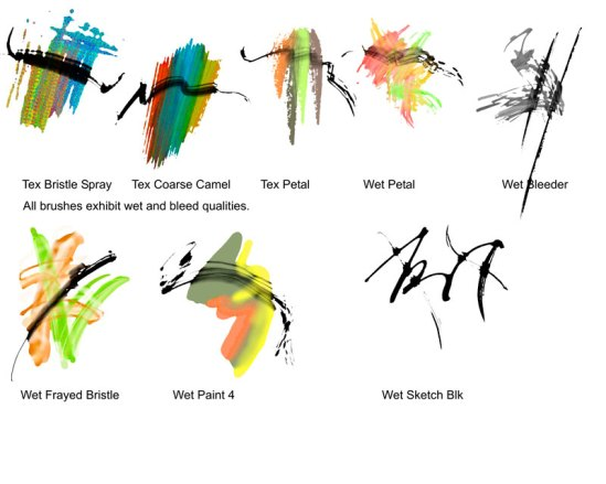 Liquid Ink Samples 2