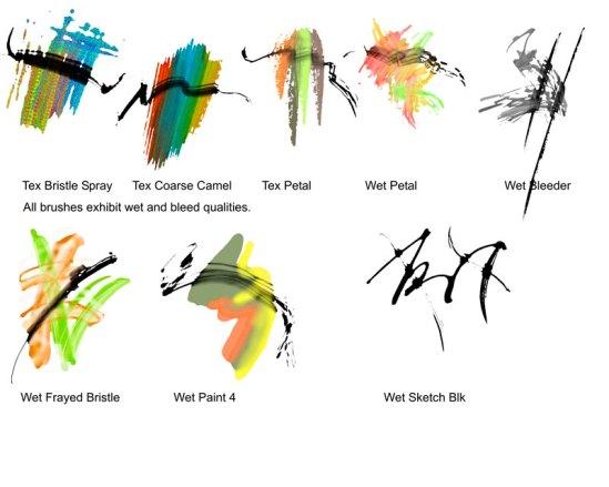Liquid Ink Samples 2