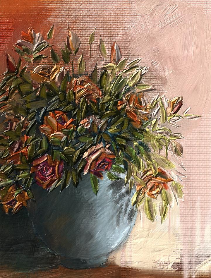 Impasto Painting in Corel Painter 12.2