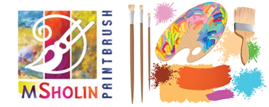 Corel Master Painter Marilyn Sholin logo.