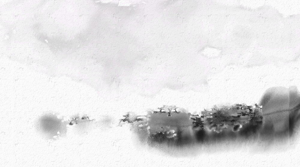 Stuff I've been doing lately...inky wash landscapes and other stuff (5/6)